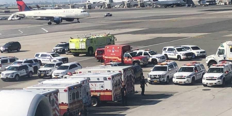 avión, Emirates, cuarentena, Nueva York, pasajeros, enfermos,
