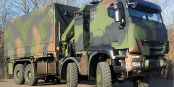 fuerzas armadas, Alemania, Trakker GTF 8x8, IVECO, Defence, entrega, unidad,