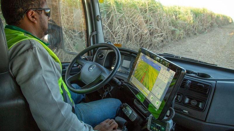 Mercedes-Benz, camiones autónomos, cosecha, caña, azúcar, Brasil,