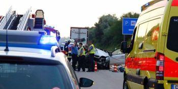 Alemania, problemas, aparcamientos, camiones, Policía, seguridad, camioneros,