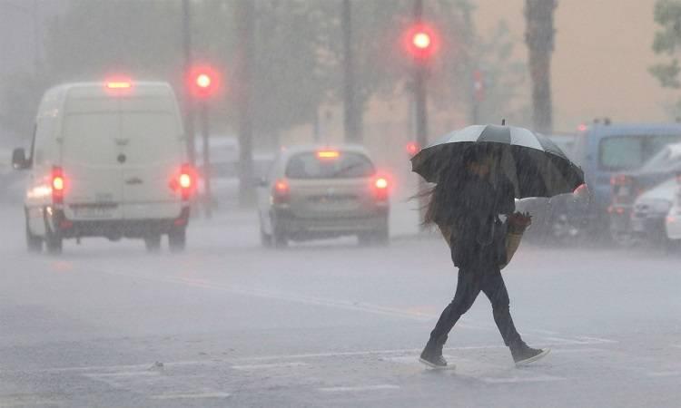 protección civil, emergencias, alerta, fuertes, lluvias, tormentas, vertiente, mediterránea,