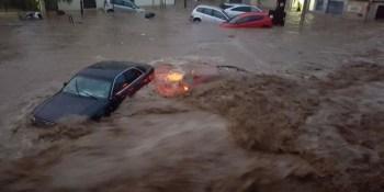 alerta, fuertes, lluvias, Málaga, Cataluña, Baleares,