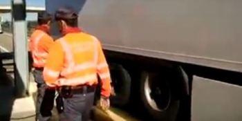 Policía Foral, Navarra, controles, camiones, peso, multas, sanciones, campaña,