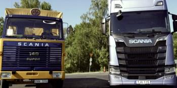 conduciendo, Scania, LBS 140, S 730,