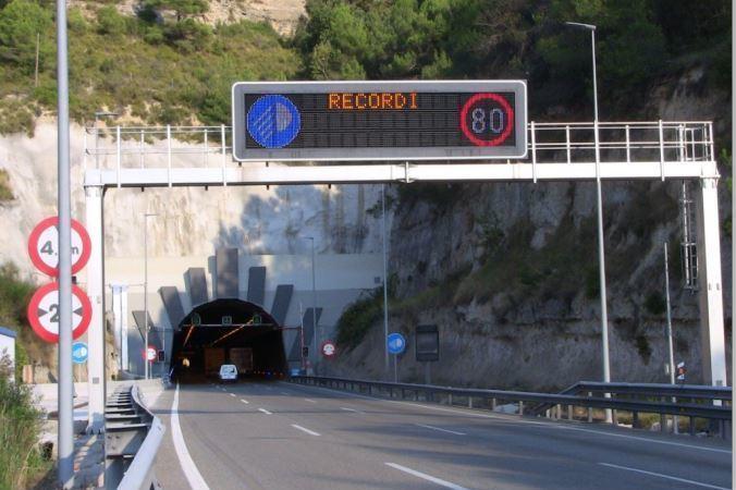 afecciones, tráfico, túnel del Bruc, A-2