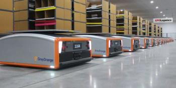 XPO Logistics, robots, colaborativos, Estados Unidos, Europa,