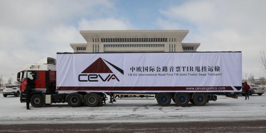 transportes Alblas, primera, empresa, camión, China, Europa,