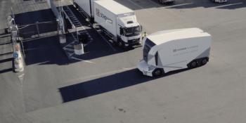 T-pod, DB Schenker, prueba, camiones autónomos,