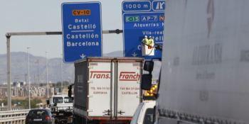 empresas, transporte, Comunidad Valenciana, descontentas, Ministerio de Fomento, Desvío camiones, autopistas, Jose Luis Ávalos,