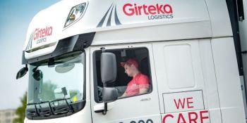 Girteka Logistics, camiones, tractoras, DAF XF, incorpora, flota,