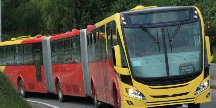 autobuses, TransMilenio, Bogotá, Scania, empresa, gas, gasoleo, 741,