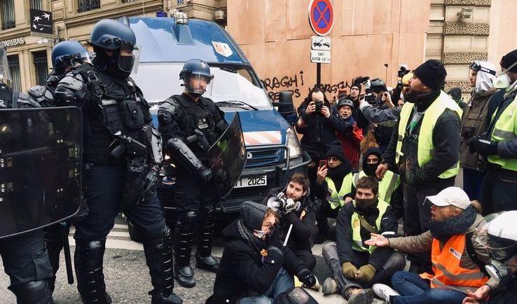 detenidos, chalecos amarillos, Francia, manifestaciones, actualidad internacional, sociedad,