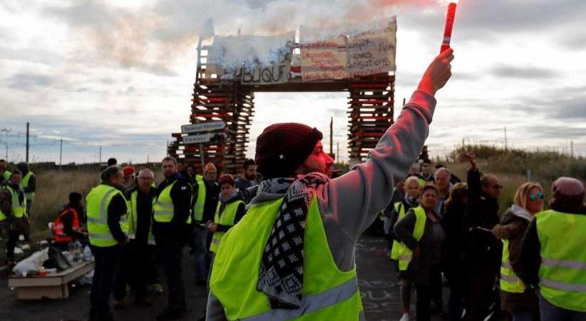 tengo, chaleco, amarillo, protestas, movilizaciones, Francia, España, transporte, opinión y debate, El Maño,