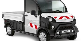 España, camión, eléctrico, Aixam-Pro, e-Truck, sin carné,