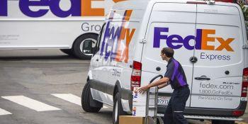 Fedex. ventas, transporte, Navidad, Estados Unidos.