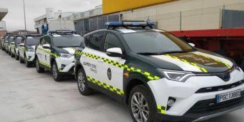 nuevos, vehículos, Guardia Civil, fotos, vídeos, actualidad,