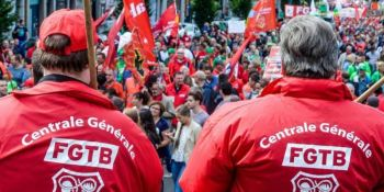 sindicato, belga, FGTB, huelga, camioneros, febrero, laboral, internacional,