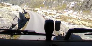 conducir, fiordos, noruegos, vídeos, Volvo, carreteras, empresas, fabricantes del sector, curiosidades,