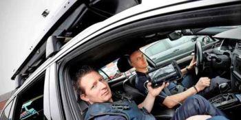 policía, Países Bajos, cámaras, camufladas, protaesquís, curiosidades,