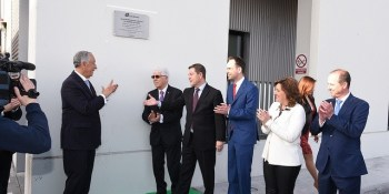 Presidente, Portugal, Castilla La Mancha, inauguración, plataforma, Luis Simoes, actualidad, logística y almacenaje, empresas,