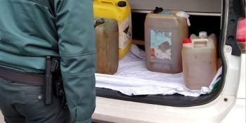 investigado, robo, combustible, camiones, estacionados, litros, gasoil,