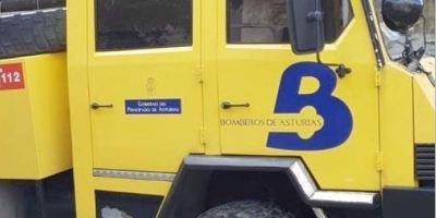 fallece, camionero, detener, vehículo, Asturias,