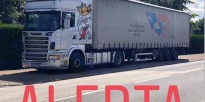 camión, robado, Móstoles, Scania, semirremolque,