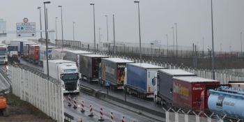 transportistas, franceses, cortarán, A-16, frontera, Bélgica,