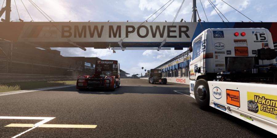 Truck Race, videojuego, carreras, camiones, campeonato, FIA,