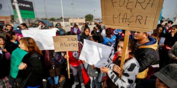 huelga, sindicatos, Argentina, gobierno, Macri, sociedad,