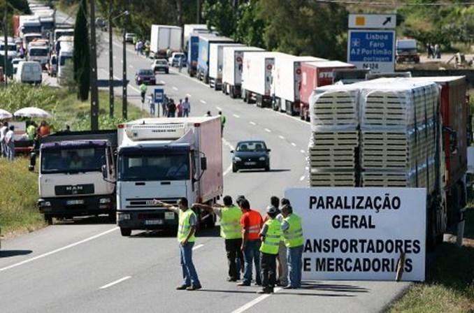 huelga, Portugal, supermercados,