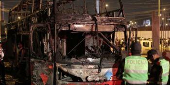 incendio, autobús, fallecidos, revela, caos, transporte, Perú,