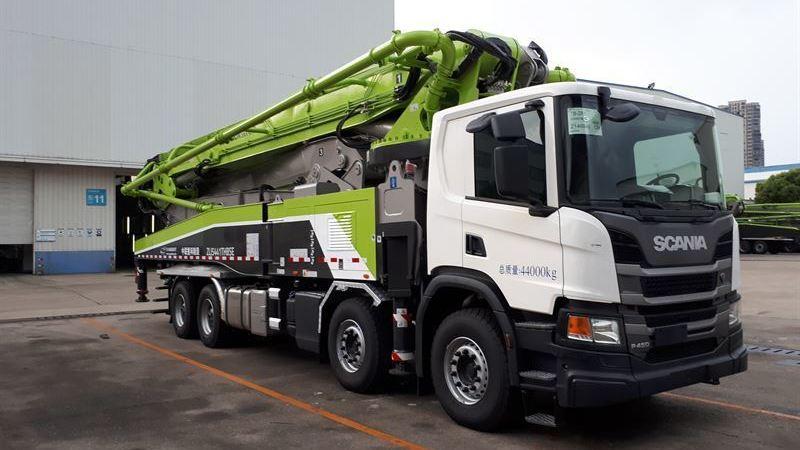 Scania, servirá, camiones, empresa, china, Zoomlion,