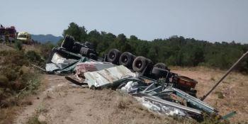 fallece, camionero, C-43, Tarragona,