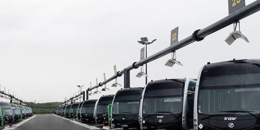 Irizar, adjudica, contrato, autobuses eléctricos, Madrid, Vitoria,