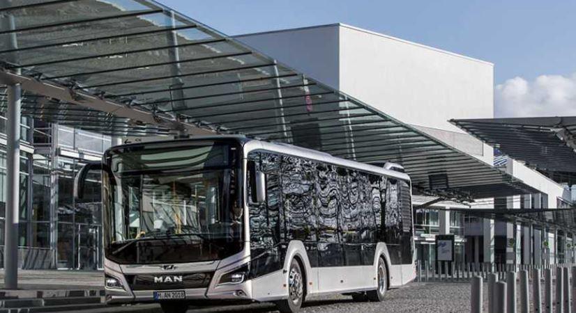 autobuses, MAN, Lion's City, transportes, metropolitanos, Barcelona,