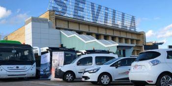 Aviapartner, aeropuerto, Sevilla, coches eléctricos, movilidad,