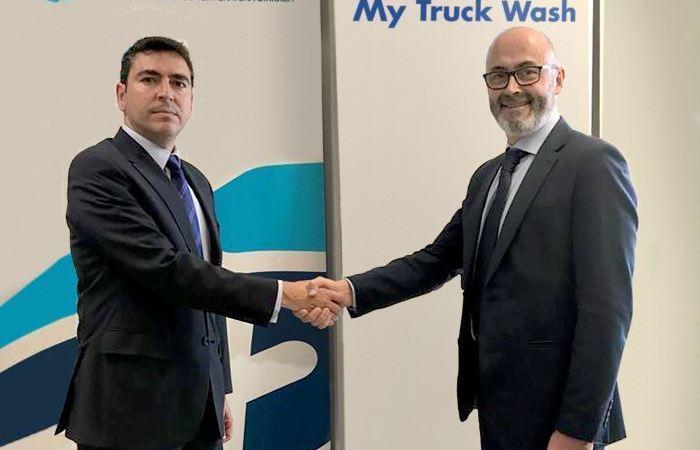 colaboración, Truck Wash Europa, Atfrie, servicio, lavado, conjuntos, frigoríficos,