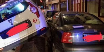 conductor, taxi, licencia, positivo, droga, colisionar, coches,