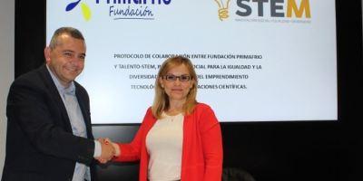Talento STEM, Fundación Primafrio, colaboración,