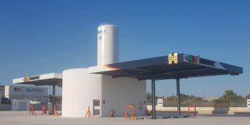 Grupo HAM, abre, gasinera, Villarreal, camiones,