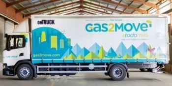 empresas, Ontruck, Gas2Move, actualidad, logística y almacenaje, ecología, Madrid, contaminación,