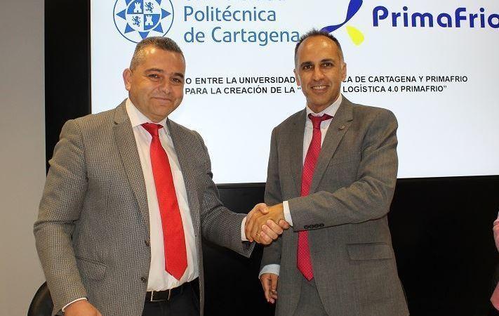 Primafrio, universidad, politécnica, Cartagena, crean, cátedra, logística,