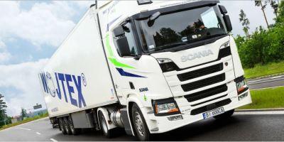 camión, gas, licuado, Scania R 410, realiza, ruta, larga, fecha,