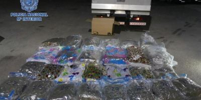 detenido, camionero, transportaba, kilos, marihuana,