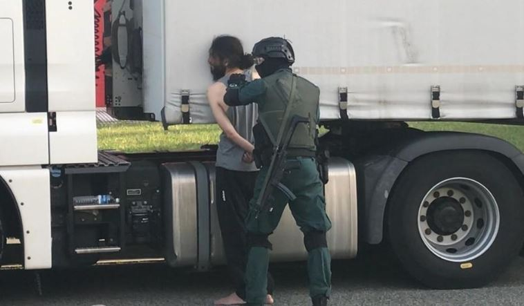 camionero, yihadista, detenido, Pamplona, Villarejo