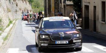 Dachser, patrocinador, logística, oficial, La Vuelta, año, consecutivo,
