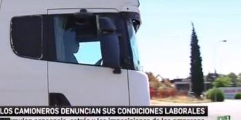 Canal Sur, eco, condiciones, laborales, camioneros, vídeo,