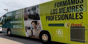 Froet, organiza, edición, curso, gratuito, obtener, carnet, autobús,