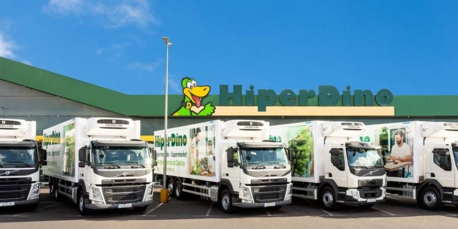 Volvo, Dinosol, flota, renueva, camiones,